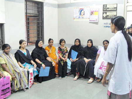 Antenatal Counselling by Mother Support Counsellor
