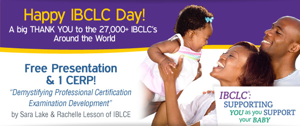 Presentation for IBCLC Day